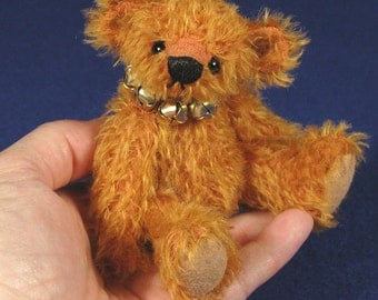 "Pattern - 5"" Artist Miniature Teddy Bear PDF  - OLIVER by Laura Lynn"
