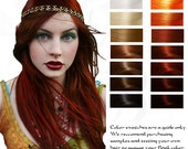 Enyo: War Goddess Ruby Red Henna Hair Color Dye and Conditioner 10G Sample