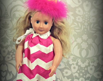 Girls American Doll Girl Boutique Birthday Party Hat Made to Match Any Party