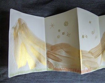 想像風景 (非寫生)| Ying-Chieh Liu's Original Drawing - Artist's Book