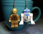 R2D2 and C3PO Earrings