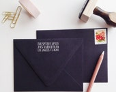 Whimsy Address Stamp