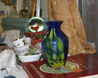 Cased Art Glass Vase