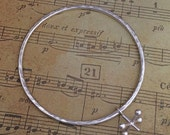 Jacks (Knucklebones) bangle sterling silver