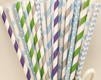 Paper Straws, 30 Disney FROZEN Party Paper Straws, Elise The Snow Queen, Frozen Princess Party, Winter, Ice Skating, Frozen Birthday Party,