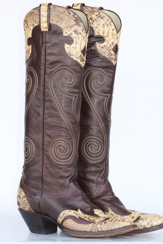 Beautiful Boots  Kids Footwear  Youth Twisted X Buckaroo Cognac Cowboy Boots