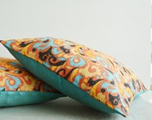 Vintage Cotton Kantha Pillow Covers, 4 layer Cotton Kantha Cushion Covers , Decorative Pillow