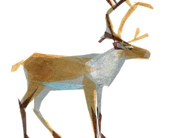 Clive Caribou - Animal Art Print