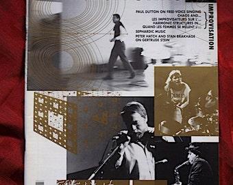 Musicworks 54 & CD 1992 Avante Garde Sound Art Noise Situation Improvisateurs Improvisation Minimalism Gertrude Stein Henry Kaiser