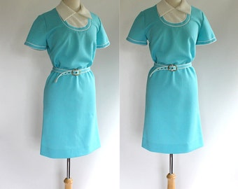 60's Polyester Knit Dress