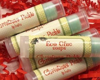 Christmas Pickle Lip Balm - Christmas Lip Balm - Stocking Stuffers - Christmas Gift
