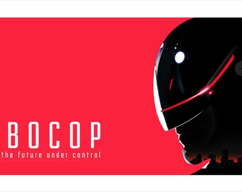 Robocop Movie Poster Art Print