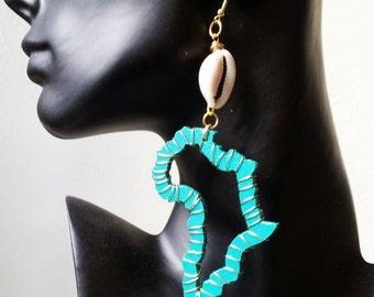 Embrace Africa -Wire Wrap Earrings