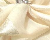 Triple Aquamarine Ring in Sterling Silver Handmade Jewelry