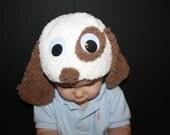 Spot the Dog Crochet Hat Pattern PDF - Infant, Toddler, Child sizes *Sale* Buy 2 patterns, GET 1 FREE.