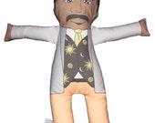 Neil deGrasse Tyson Plush Doll Toy Printable Pattern (Digital Download)