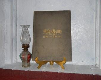 Art Gems For The Home & Fireside Charlotte Perkins Gilman 1890 Utopian Feminist. Scarce, Antique Book.