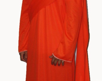 Thai Buddhist Cambodian Monk Costume Robes Fancy Dress Costumes UK made