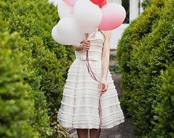 Heart Balloon, Small Heart Wedding Balloon, 11 inch 6 pack, Valentine's Day, Wedding Balloon, Wedding & Event Supplies - Photo Prop