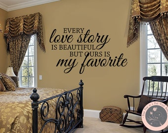 Bedroom Decor   Bedroom Wall Decal   Master Bedroom Wall Decal    Inspirational Quote   Vinyl