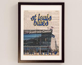 "Shop ""st louis blues"" in Art & Collectibles"
