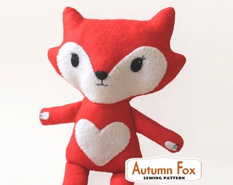 Fox Sewing PATTERN - pdf  ***SPECIAL OFFER***