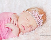 Tiara Baby Headband Purple Tiara Pink Tiara White Tiara Hot Pink Tiara Crystal Tiara Headband Newborn Photography Prop Made in Australia