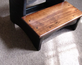Wood 2 Step Stool Etsy