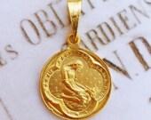 Medal - Saint Mary Magdalene 18K Gold Medal - 20mm