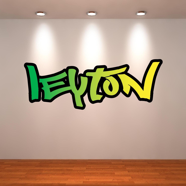 Grafitti wall sticker -  Zoom