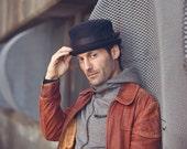 Men's Wool Felt Cut and Sew Hat -The John