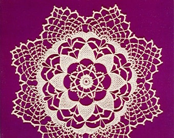 Old Fashioned Doilies to Crochet  edited by Rita Weiss