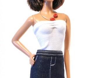 Handmade clothes for Barbie (skirt): Lovere