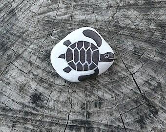 Flat Beach Slate Turtle