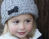 Crochet Hat Pattern: 'Keenan Cap' for girls too! Crochet Kids