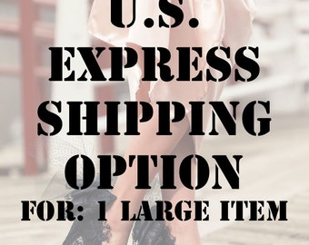 Express Shipping Option for 1 Large Item(United States Residents Only)