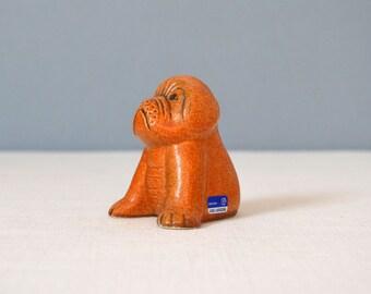 Vintage Gustavsberg Lisa Larson Boxer Figurine