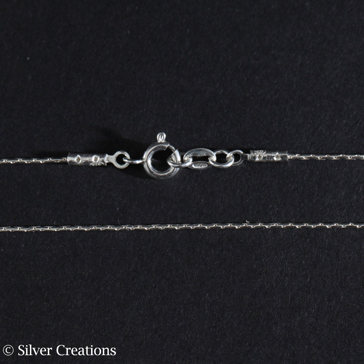 sterling silver necklace chain beading silver necklace chain