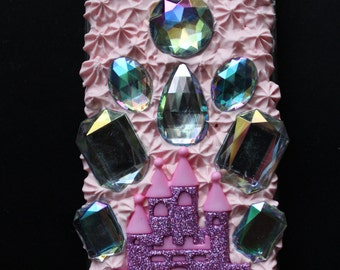 Kawaii Princess Castle/Crown Themed iPhone 5 Case