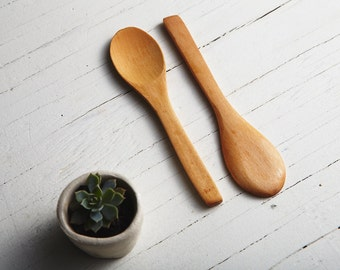 Little Wooden Spoons (Pack of 4)
