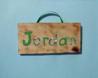 Jordon name sign