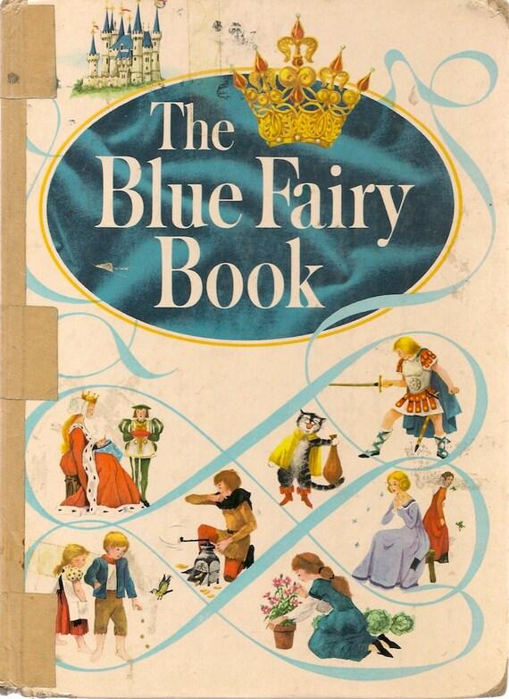 The Blue Fairy Book - Andrew Lang - Grace Dalles Clark - 1959 - Vintage Kids Book