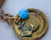 Vintage Newport Bridge Token Necklace CUSTOMIZABLE