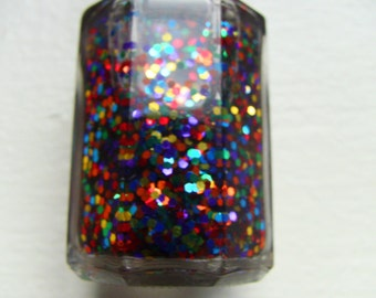 Keeper of Thyn Gems glitter nail polish