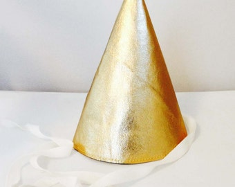 Leather Party Hat - Many Colors Available