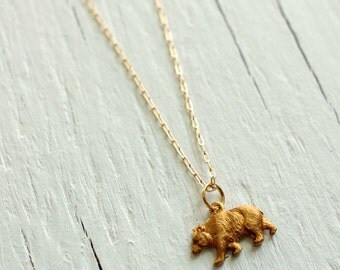 Bear Necklace from Game of Thrones - House Mormont