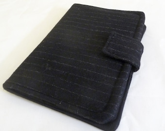 Pinstripe Wool Standard Kindle Fire Cover, Original Kindle Fire, Kindle Keyboard, Kindle 3 Cover | Case