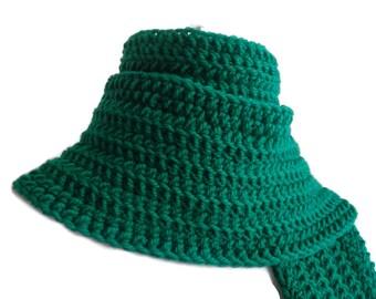 Wool Emerald Green Scarf Classic Kelly Men Women DRAKE Ready to Ship