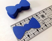Little bowties Royal Blue 1.25 by 2.5 inch. 100 pieces