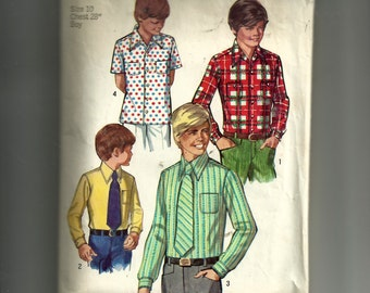 Simplicity Boy's Shirt and Tie Pattern 8901